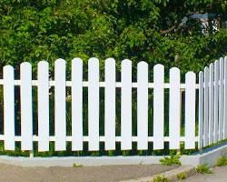 PVC ograje